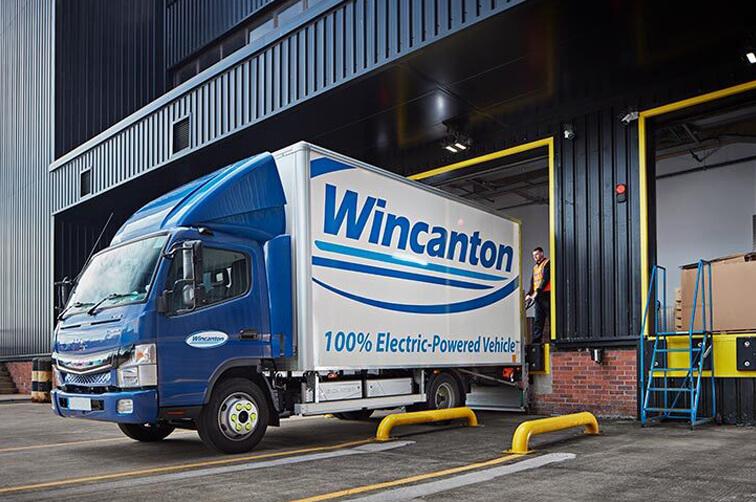 Wincanton delivery truck
