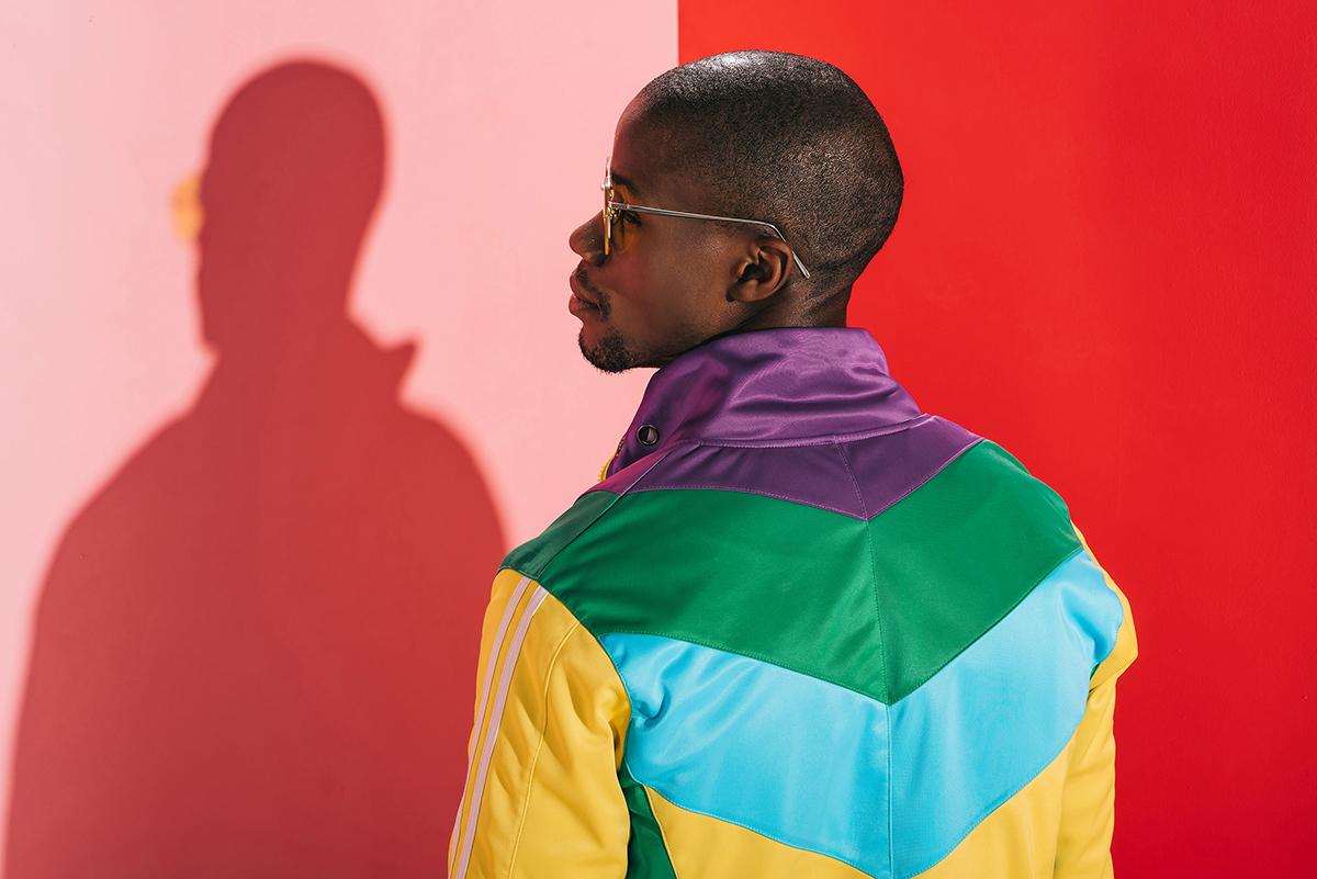 Male fashion model shot